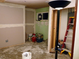 Bedroom Remodel Drywall