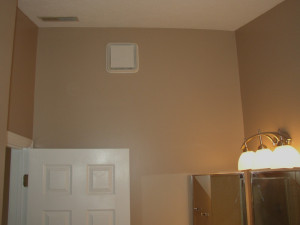 finished bathroom painting in centerville ohio