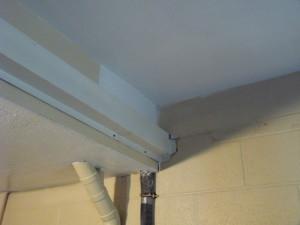 drywall repair after