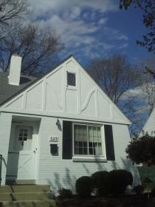 close up exterior painting oakwood ohio