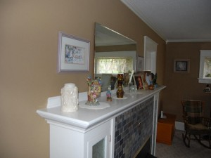 brown living room painting in oakwood ohio