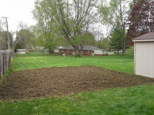 new garden installation ohio after