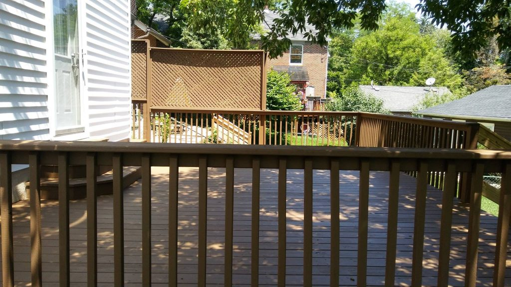 deck stain repair
