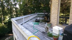 deck staining solid