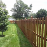 fence staining kettering