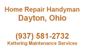 home repair and handyman logo for Dayton ohio